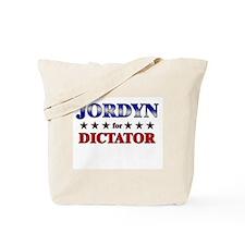 JORDYN for dictator Tote Bag