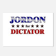 JORDON for dictator Postcards (Package of 8)