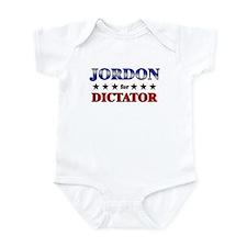 JORDON for dictator Infant Bodysuit