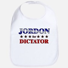 JORDON for dictator Bib