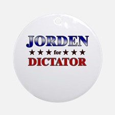 JORDEN for dictator Ornament (Round)