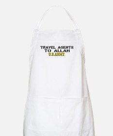 Travel agents to allah BBQ Apron