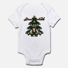 Italia Soccer Christmas Tree Infant Bodysuit