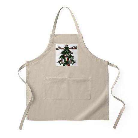Italia Soccer Christmas Tree BBQ Apron