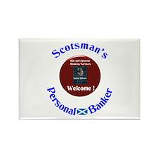 Scotland's Super Saver. Rectangle Magnet