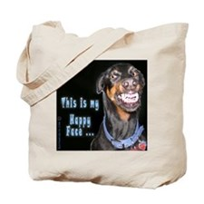 Doberman Pinscher Smiles Tote Bag