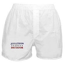 JONATHON for dictator Boxer Shorts