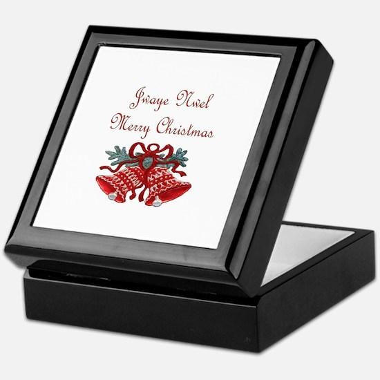 Haitian Christmas Keepsake Box