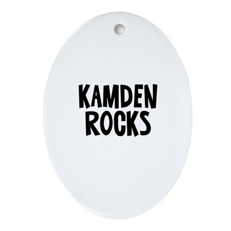 Kamden Rocks Oval Ornament