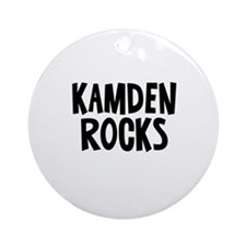 Kamden Rocks Ornament (Round)