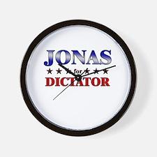 JONAS for dictator Wall Clock