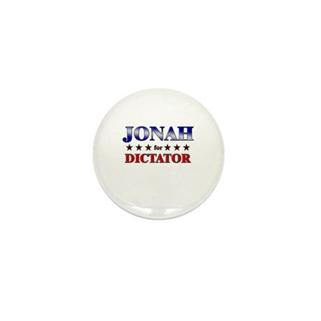 JONAH for dictator Mini Button (10 pack)