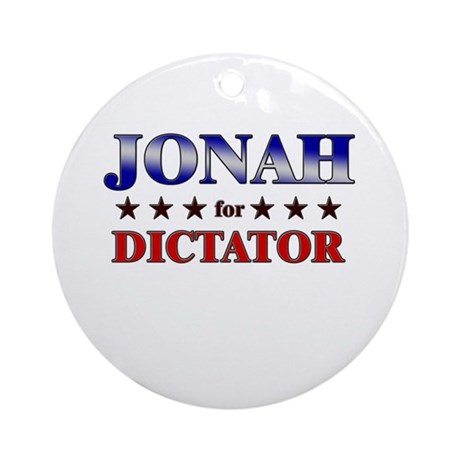 JONAH for dictator Ornament (Round)