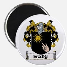 """Brady Coat of Arms 2.25"""" Magnet (10 pack)"""