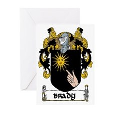 Brady Coat of Arms Note Cards (Pk of 10)