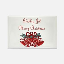 Iceland Christmas Rectangle Magnet (10 pack)