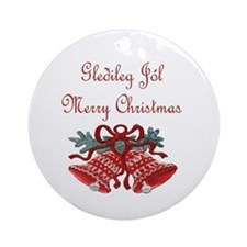 Iceland Christmas Ornament (Round)