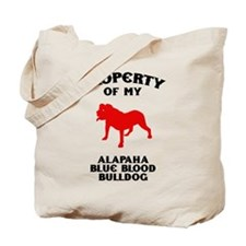 Alapaha Blue Blood Bulldog Tote Bag