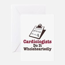 Funny Doctor Cardiologist Greeting Card
