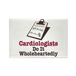 Funny Doctor Cardiologist Rectangle Magnet (10 pac