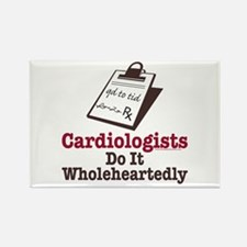 Funny Doctor Cardiologist Rectangle Magnet