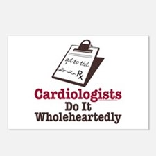 Funny Doctor Cardiologist Postcards (Package of 8)