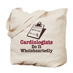 Funny Doctor Cardiologist Tote Bag