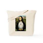 Mona / Pomeranian(w) Tote Bag
