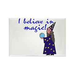 Magic Belief Wizard Rectangle Magnet (10 pack)