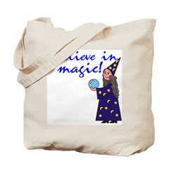 Magic Belief Wizard Tote Bag
