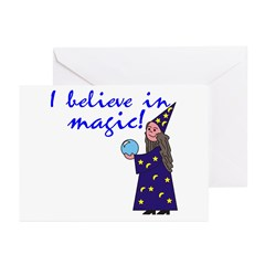 Magic Belief Wizard Greeting Cards (Pk of 10)