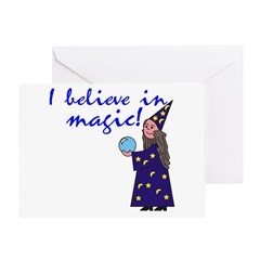 Magic Belief Wizard Greeting Card