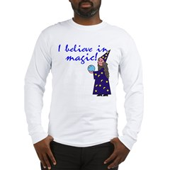 Magic Belief Wizard Long Sleeve T-Shirt