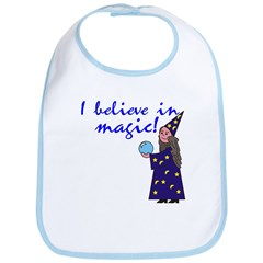 Magic Belief Wizard Bib