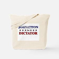 JOHNATHON for dictator Tote Bag