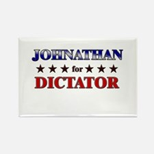 JOHNATHAN for dictator Rectangle Magnet