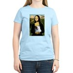 Mona / Pomeranian(r&w) Women's Light T-Shirt