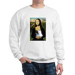 Mona / Pomeranian(r&w) Sweatshirt