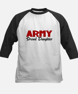 Army Daughter (red) Tee