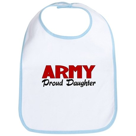 Army Daughter (red) Bib