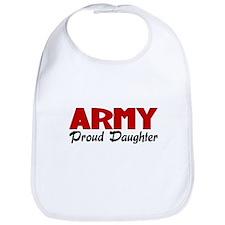 Army Daughter (red) Bib