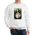 Mona/2 Pomeranians Sweatshirt