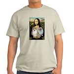 Mona/2 Pomeranians Light T-Shirt