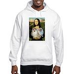 Mona/2 Pomeranians Hooded Sweatshirt