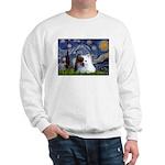 Starry/Pomeranian(r&w) Sweatshirt