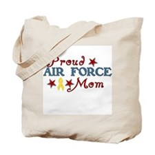 Air Force Mom (collage) Tote Bag