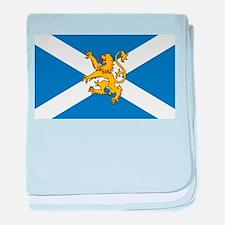 Flag of Scotland - Lion Rampant baby blanket