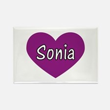 Sonia Rectangle Magnet