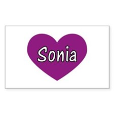 Sonia Rectangle Decal
