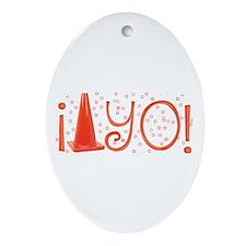 Cone-yo Oval Ornament